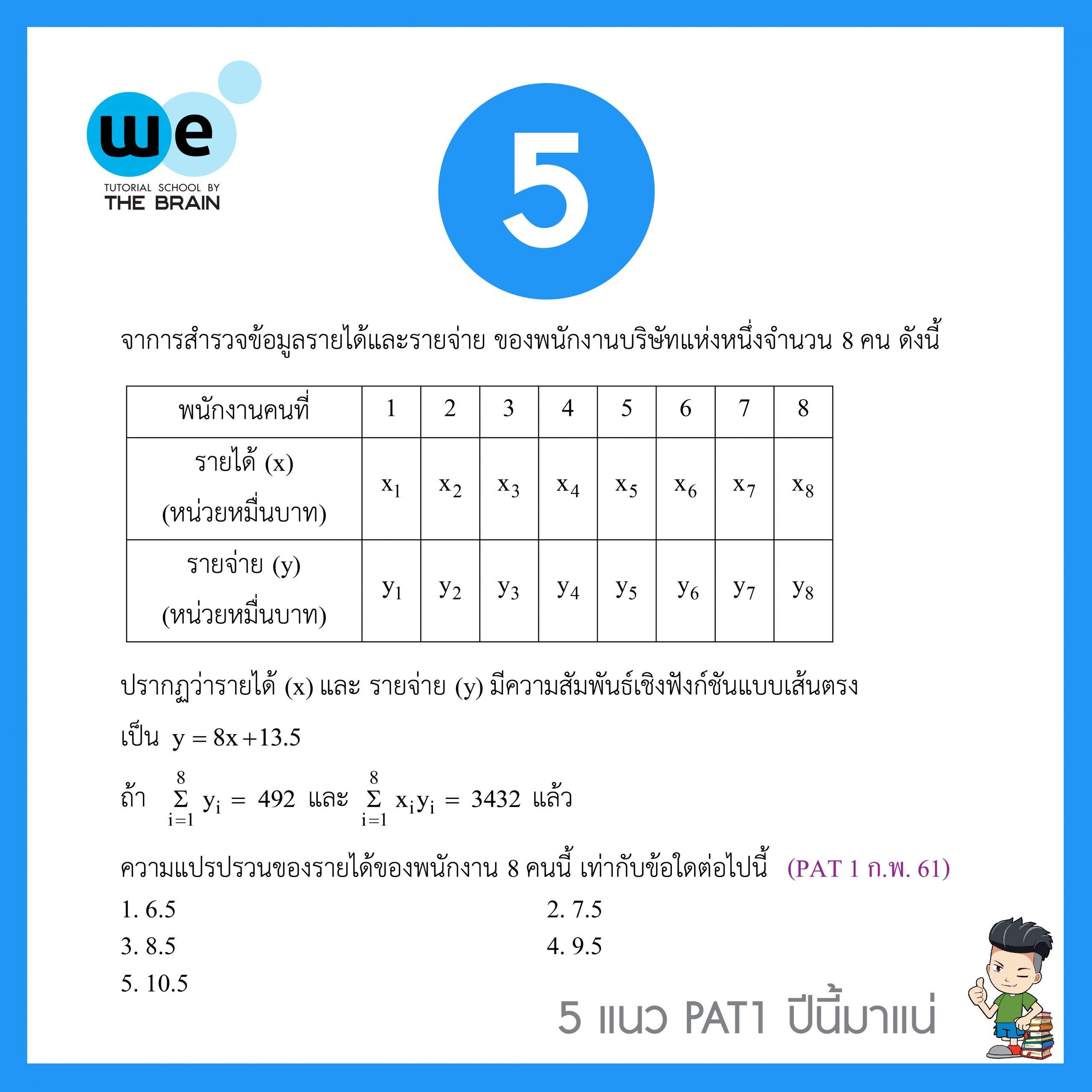 5แนวข้อสอบ-PAT1-ข้อ5