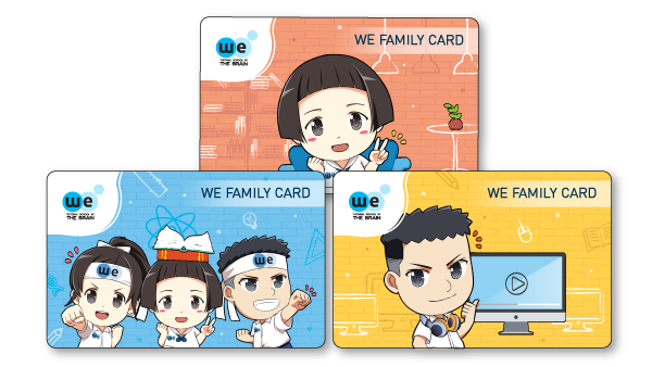 WE FAMILY CARD