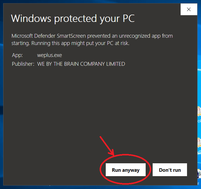 windows-protect-run-anyway
